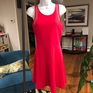 H&M Pink Fit and Flare Dress - Small